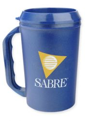 22 oz. Travel Mug - BPA Free - Multiple Colors