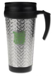 "14 oz. Stainless Steel City ""Tool Box"" Travel Mug"