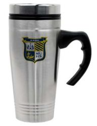 18 oz. Stainless Steel City Fleet Travel Mug