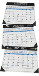 Desk Planner w/ Black Vinyl Trim - 22 x 17