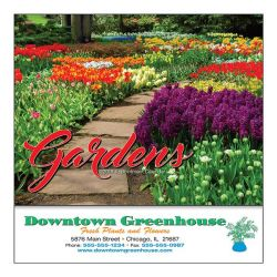 Mini Wall Calendar - 13 Month - Gardens