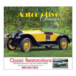 Wall Calendar - Monthly - Automotive Classics
