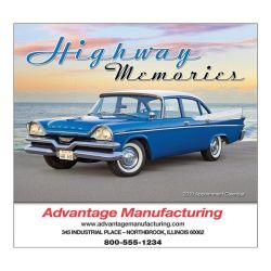 Wall Calendar - Monthly - Highway Memories