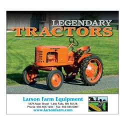 Wall Calendar - Monthly - Legendary Tractors