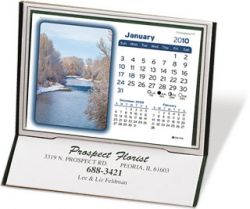 Desk Calendar w/ 3 Month View - Monterey